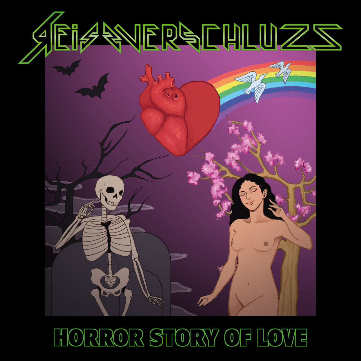 Reissverschluzz - Horror Story of Love (Album-Cover)